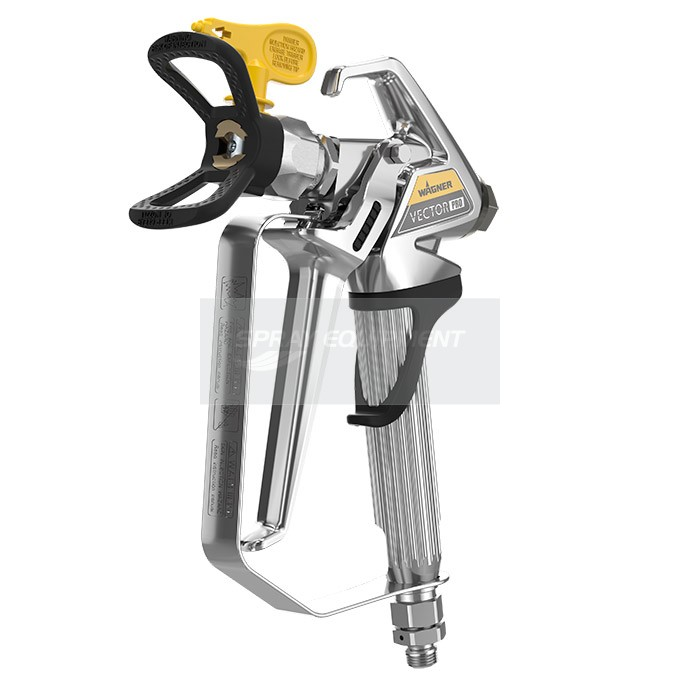 wagner vector pro airless spray gun with 517 tip. Black Bedroom Furniture Sets. Home Design Ideas