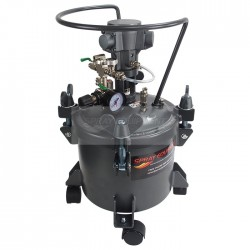 Paint Pressure Tank 10 Litre Air Driven Agitator