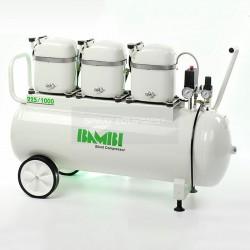 Bambi MD 225/1000 Silent Air Compressor 230v