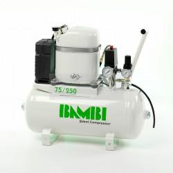 Bambi MD 75/250 Silent Air Compressor 230v