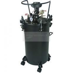 Paint Pressure Tank 40 Litre Air Driven Agitator