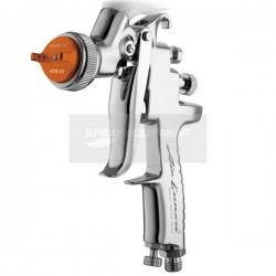 Anest Iwata AZ3 HTE-S Chrome Flash Gravity Spray Gun