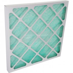 F24 Spray Booth Glass Fibre Panel Air Filter  - 10 Pack