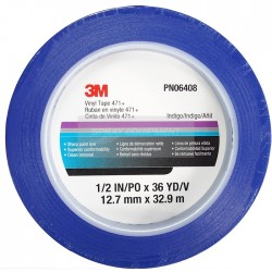 3M 06405 06408 Fine Line Masking Tape Blue