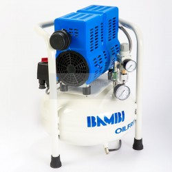 Bambi PT15 Oil Free Ultra-Low Noise Air Compressor