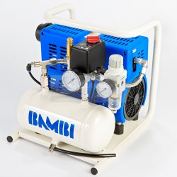 Bambi PT5 Oil Free Ultra-Low Noise Air Compressor