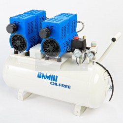 Bambi PT50D Oil Free Ultra-Low Noise Air Compressor