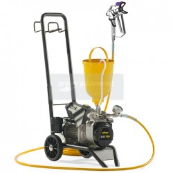 Wagner SF23 Pro Fine Finish Airless Spray Package - Cart Mounted