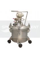 Paint Pressure Tank Stainless 10 Litre Air Driven Agitator