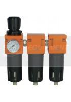 Metalwork 3 Stage Breathing Air Filter Regulator
