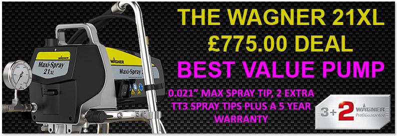 wagner 21XL PS3.20 airless sprayer