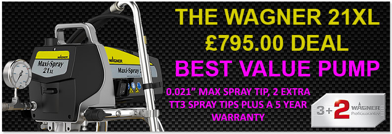 wagner 21XL PS3.20 airless sprayer