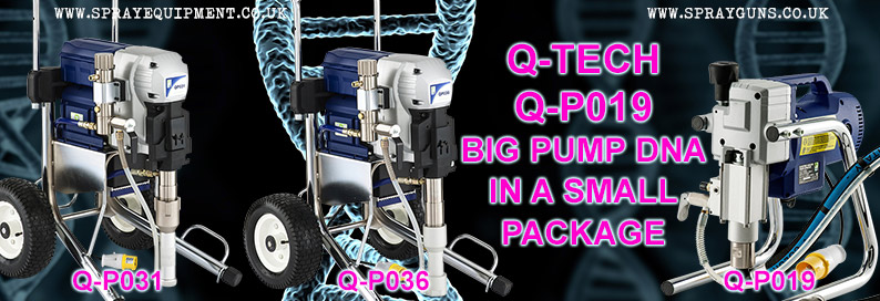 Q-Tech Q-P019 DNA Airless Sprayer Package