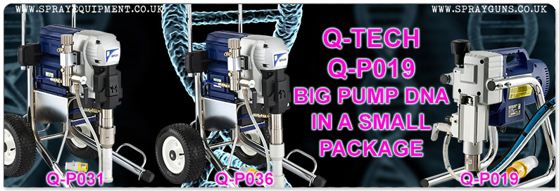 Q-Tech Q-P019 DNA Airless Sprayer Package